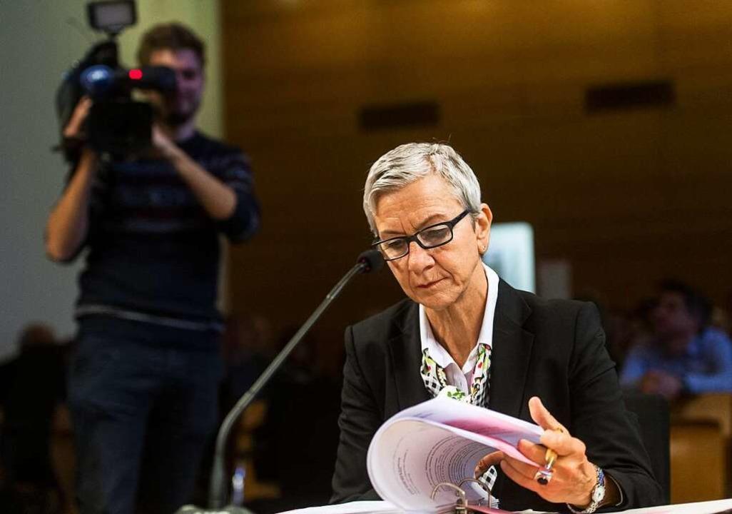 Professorin Ursula Wittwer-Backofen hat die Zahnzementanalyse vorgenommen.  | Foto: dpa