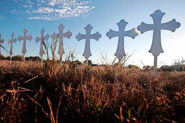 Texas-Attentäter konnte trotz Vorstrafe Waffen kaufen