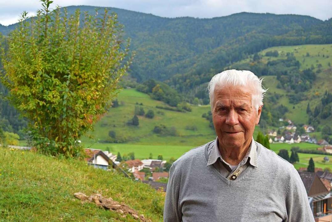Richard Böhler war Bürgermeister in Utzenfeld und Schönau.  | Foto: Ulrike Jäger