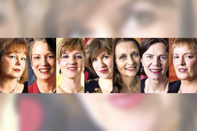 Das Frauenvokalensemble Les Voyelles konzertiert in Bad Krozingen und Freiburg