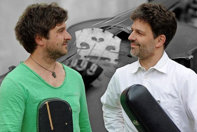Michael und Markus Dinnebier in Kirchzarten