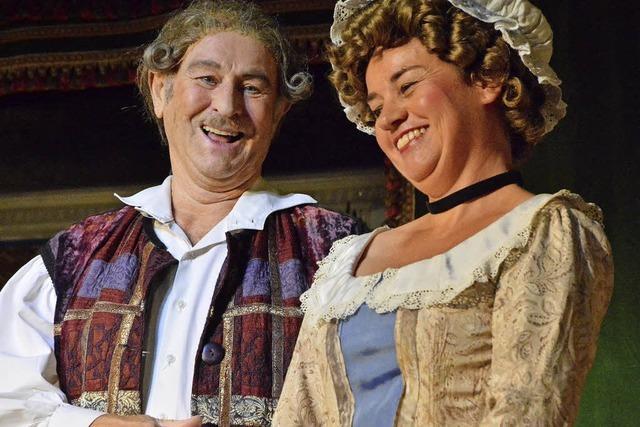 Lörracher Bühneli spielt Carlo Goldonis Komödie 'Der Diener zweier Herren
