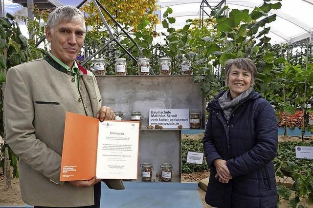 Ehrenpreis des Landes für Baumschule Schott