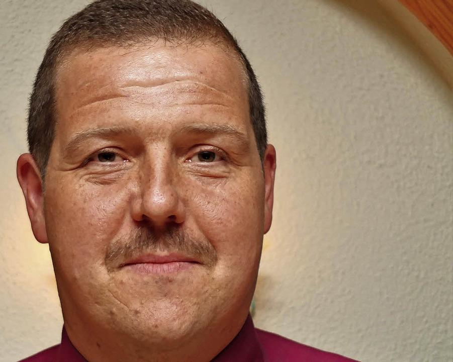 Der Vorsitzende Mike Kiefer  | Foto: Martina David-Wenk