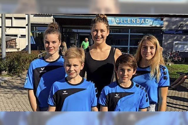 SVW-Schwimmerinnen in Lörrach erfolgreich