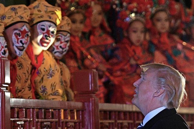 Trump warnt Nordkorea vor weiteren Provokationen