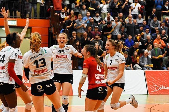 VC Offenburg schnuppert an der Pokal-Sensation