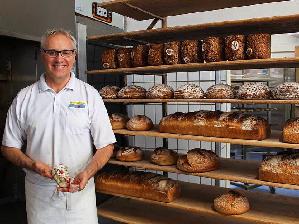 Inhaber Fritz Trefzger  | Foto: mow