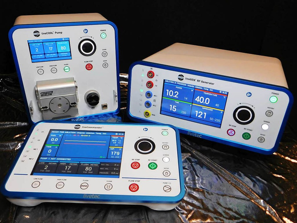 Hochfrequenzablationssystem für die Kardiologie    Foto: Livetec
