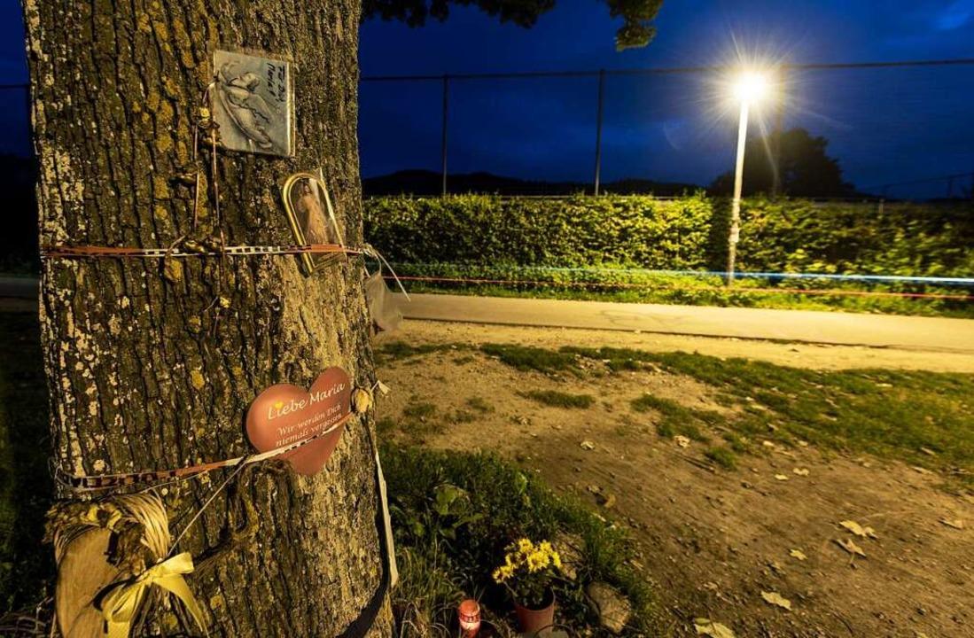 Der Tatort nahe dem SC-Stadion. Der Sa...f auf Maria L. abgelaufen sein könnte.  | Foto: dpa