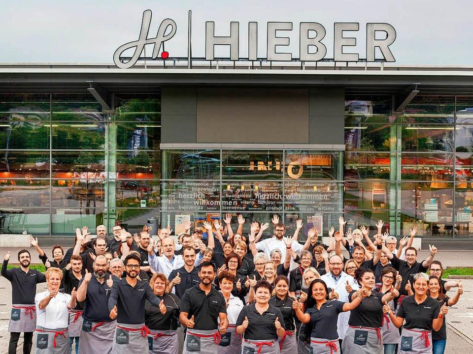 Hieber setzt auf Menschen: Nicht nur d...mmen die Kunden in die Frische Center.    Foto: Hieber