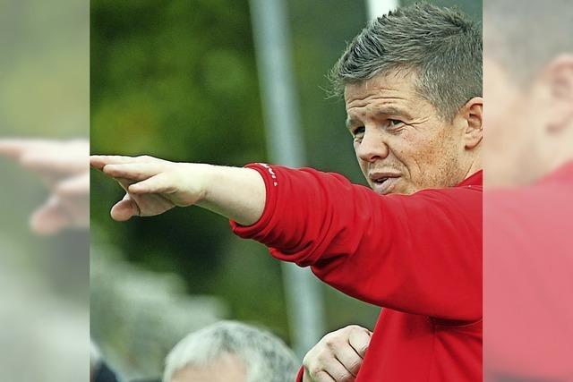 Ein besonderes Spiel für Löffingens Trainer Tim Heine