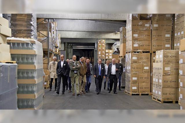 Mülheimer Unternehmerforum zu Gast bei der Kellereibedarfs Firma Zimber