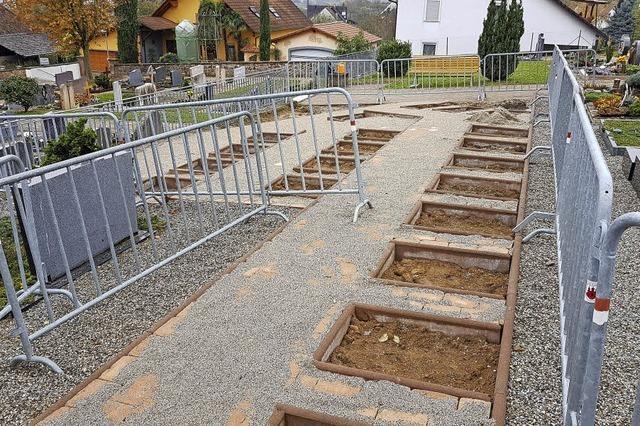 Friedhof bleibt Dauerthema