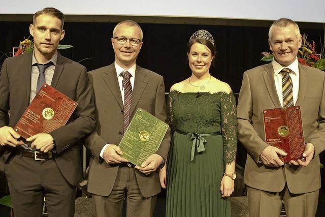 Winzer der Region holen acht Ehrenpreise