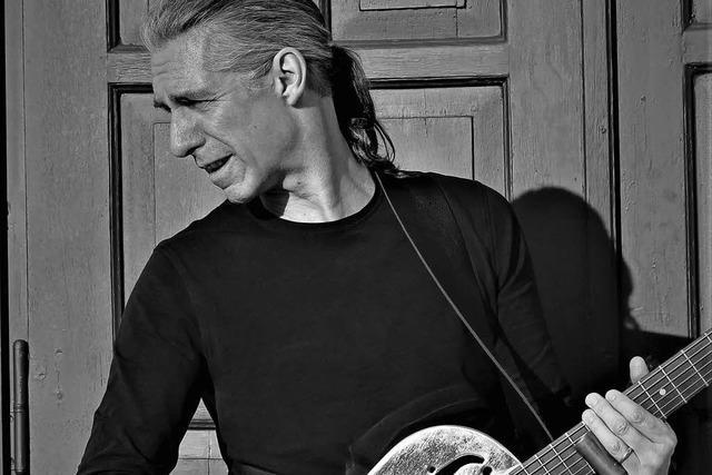 Bluesgitarrist Ralph Brauner stellt in Steinen seine neue CD