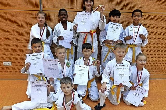 Hansjakob-Judokas werden Zweite