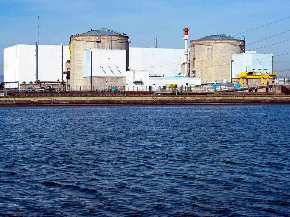 Atomkraftwerk Fessenheim  | Foto: AFP