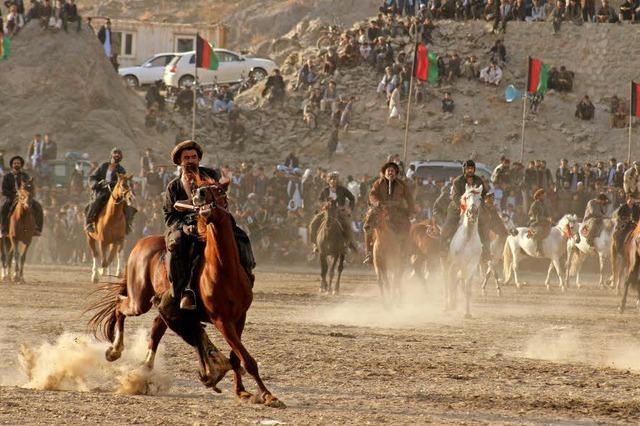 Buzkaschi in Afghanistan