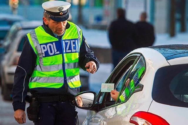 Polizei richtete 52 Kontrollstellen in der vergangenen Woche in Weil am Rhein ein