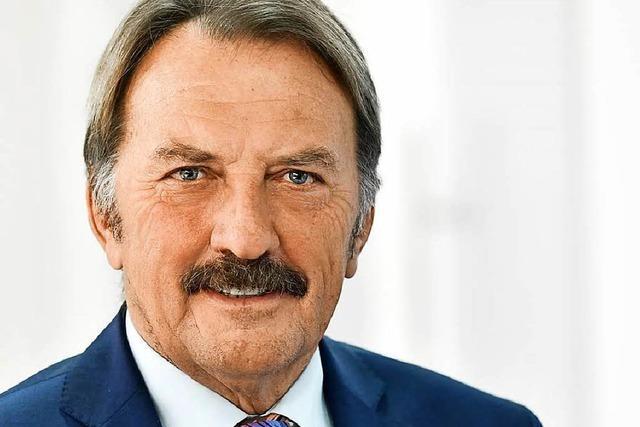 Norbert Weber erhält die Adolph Blankenhorn Medaille