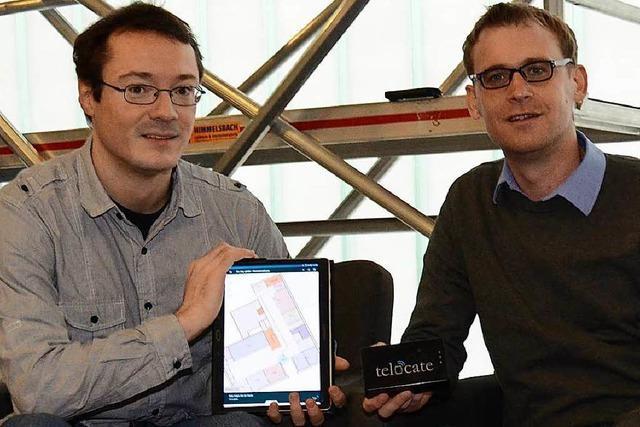 Telocate: Präzise Navigation in großen Gebäuden
