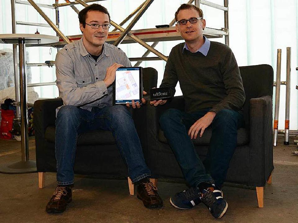 Haben eine wegweisende Technologie ent...endeberg (links) und Fabian Höflinger.  | Foto: Konstantin Görlich
