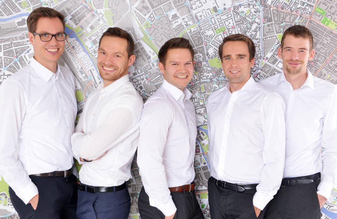 Die Geospin-Gründer: Johannes Bendler,...s Brandt, Christoph Gebele (von links)  | Foto: Geospin