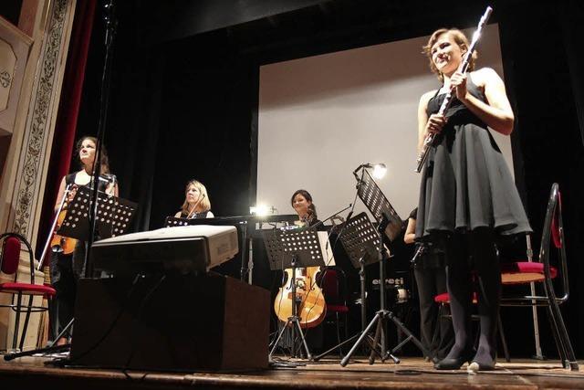 Studierende der Freiburger Musikhochschule in Riegel
