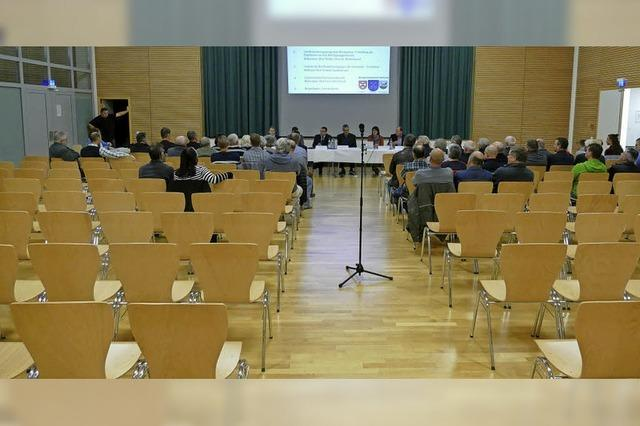 Keine Interesse an Einwohnerversammlung in Hartheim