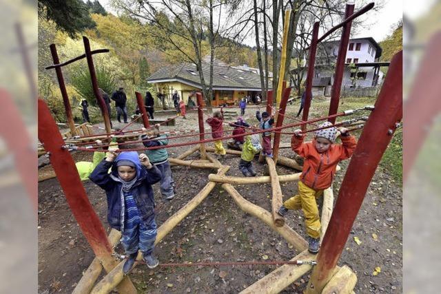 Neue Kletterlandschaft fürs Haus Tobias