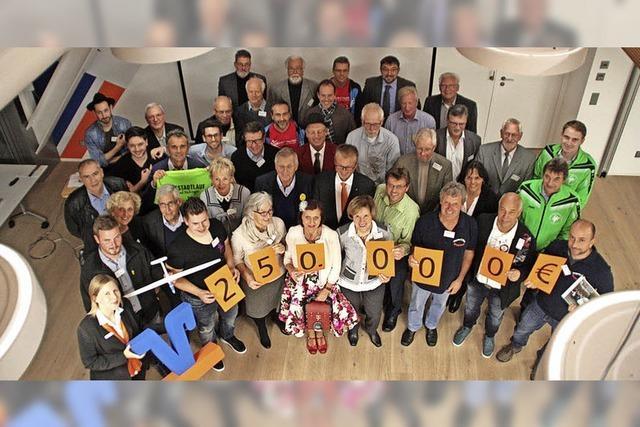 Volksbank spendet 250 000 Euro