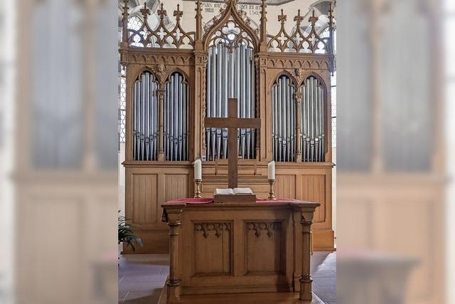 Ötlinger Orgel klingt zu Weihnachten