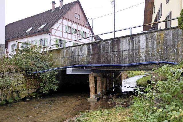 Ehrenbachbrücke völlig marode