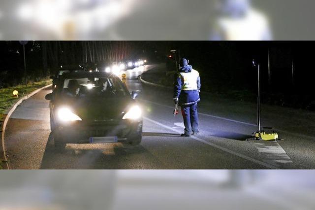 Kontrollen auf der Straße sollen Einbrecher abschrecken