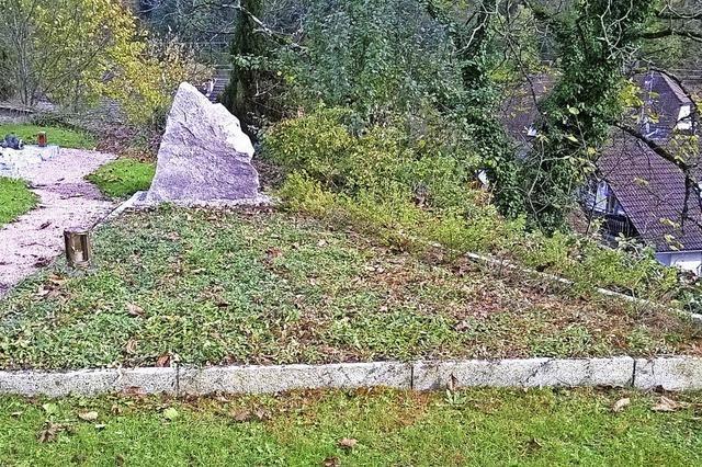Neuer Unfrieden mit dem Friedhof in Wieslet