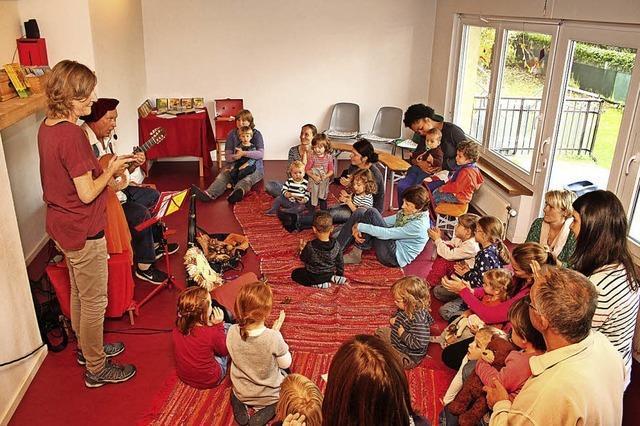 Großer Bedarf an Kleinkindplätzen