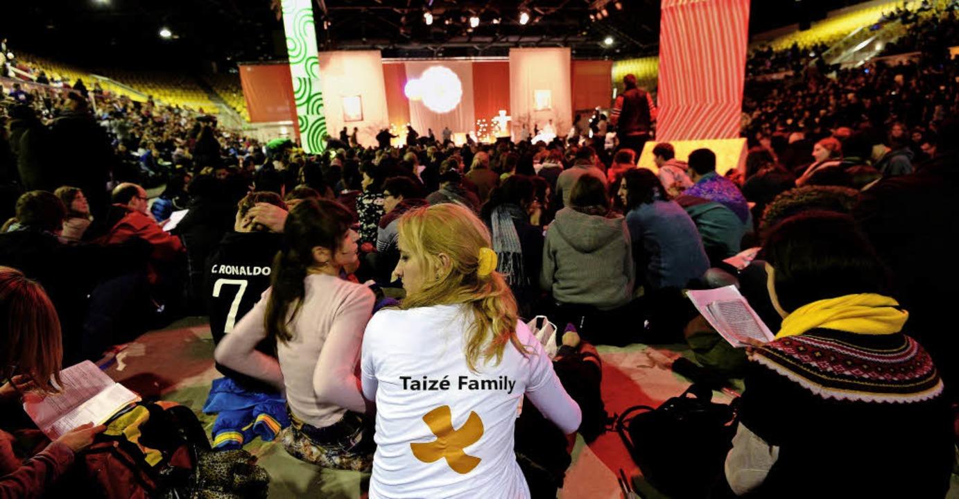 2013 fand das Jugendtreffen in Straßburg statt.   | Foto: AFP/Langelott