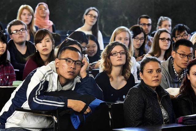 Rückgang von Studenten aus Nicht-EU-Ausland