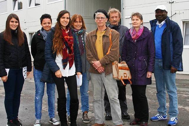 Geregeltes Leben im Containerdorf in Schopfheim