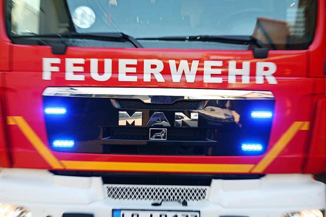 Tödlicher Brand in Achern    Foto: Bastian Henning