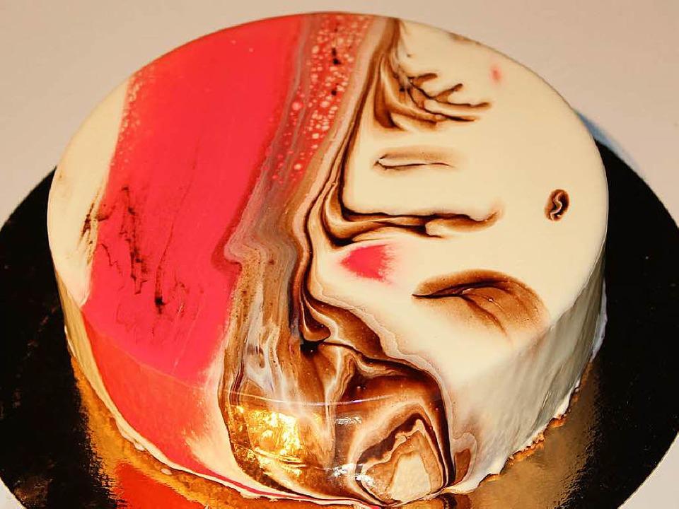 Mirror Glaze: Kitsch oder Kunst?  | Foto: Franziska Brandsch
