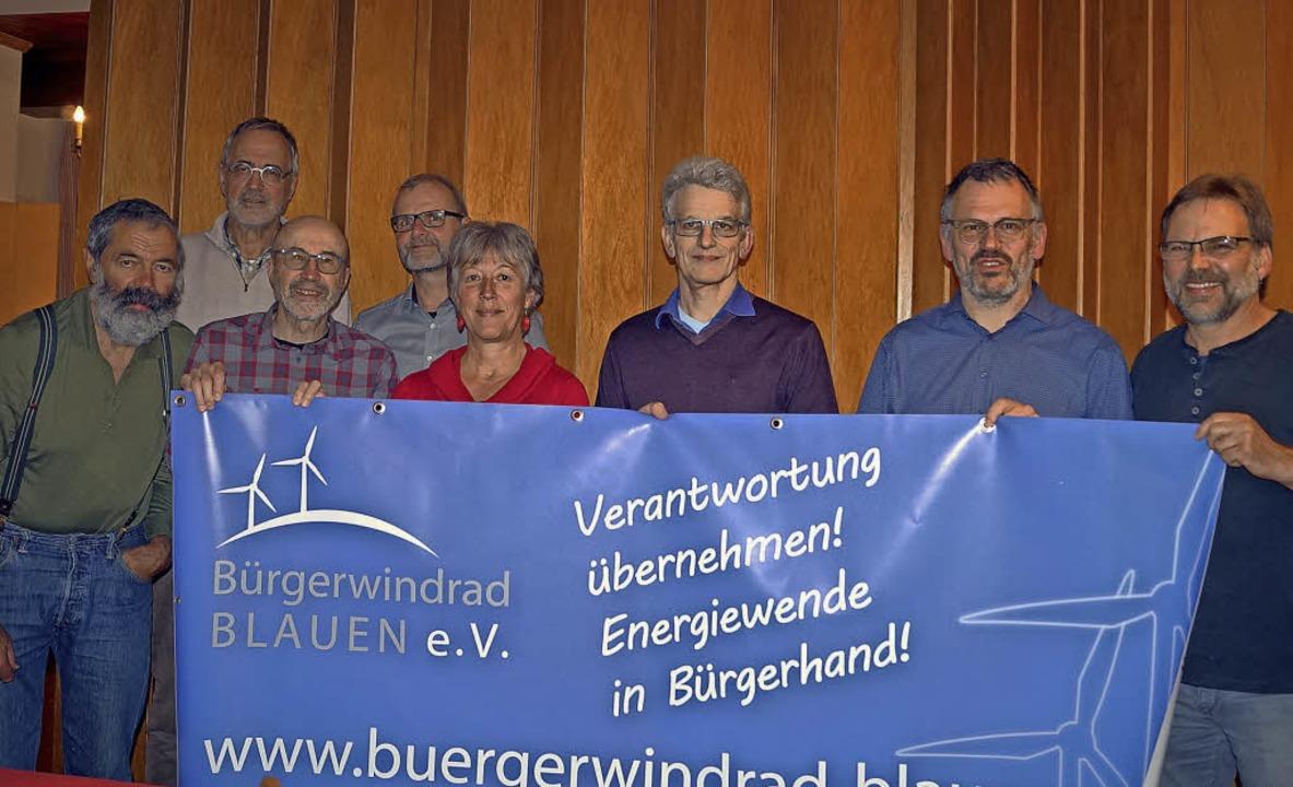 Der neue Vorstand des Vereins Bürgerwi...recher Georg Hoffmann und Kurt Mayer.   | Foto: Silke Hartenstein
