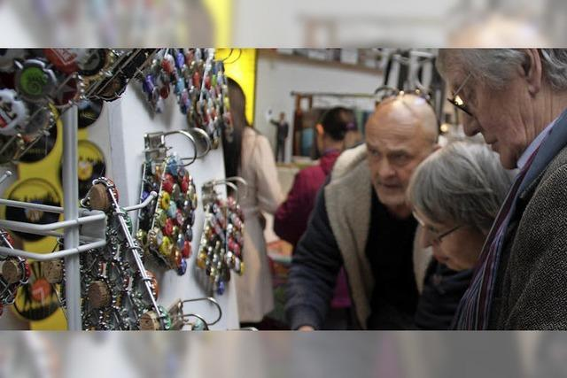 Kunsthandwerkermarkt als wahre Fundgrube
