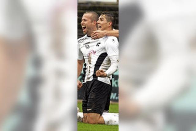 FC 08 Villingen bleibt dran