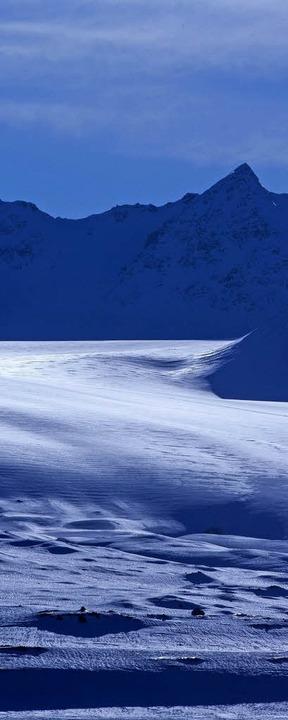 Wegen der höheren Temperaturen schmelzen die Gletscher.   | Foto: DPA