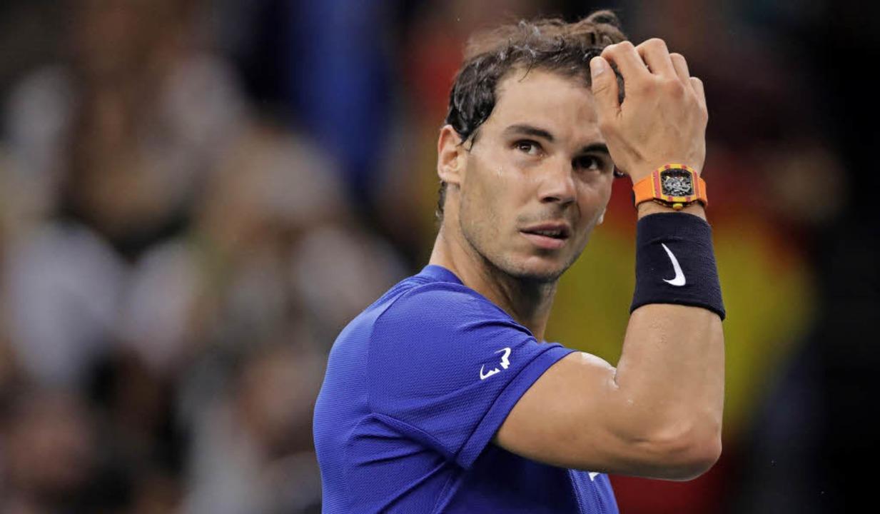 Wie stark ist er wirklich: Rafael Nadal    Foto: afp