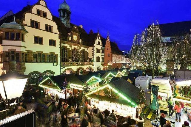 Freiburger Weihnachtsmarkt öffnet wegen Gedenkfeier früher