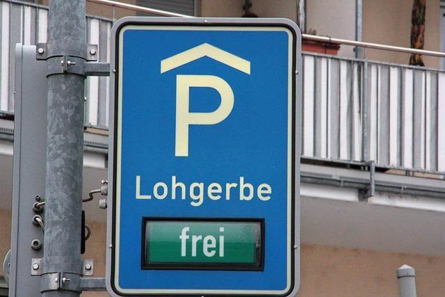 Sanierung des Parkhauses Lohgerbe startet im März 2018
