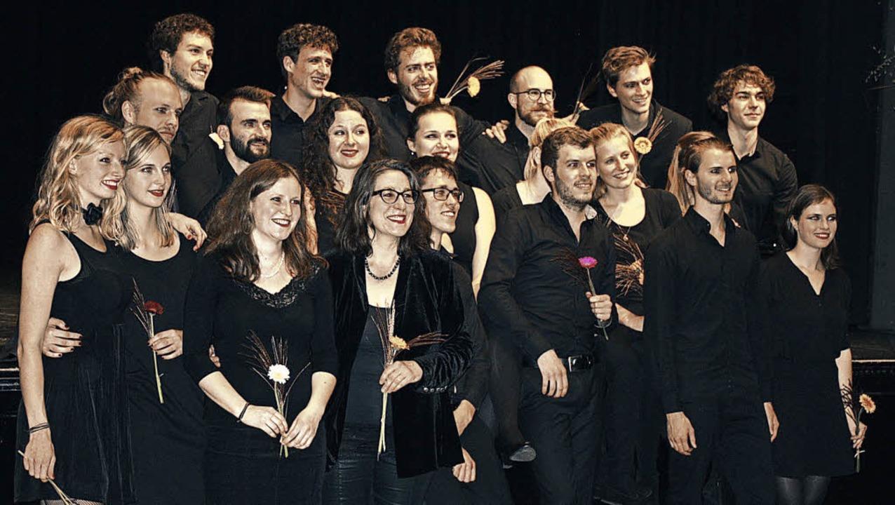Die Protagonisten der Dreigroschenoper in Denzlingen   | Foto: Hildegard Karig